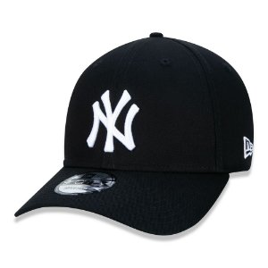 Boné New York Yankees 940 Snapback White on Black - New Era