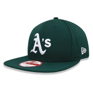 Boné Oakland Athletics A's Strapback Team Color MLB - New Era