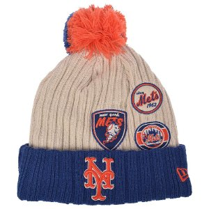 Gorro Touca New york Mets Vintage Knitter - New Era