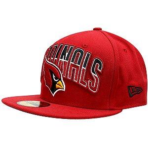 Boné Arizona Cardinals DRAFT 5950 Fechado - New Era