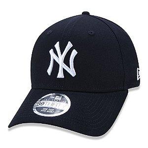 Boné New Era New York Yankees 3930 Basico MLB Azul Marinho