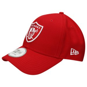 Boné Oakland Raiders 940 Snapback White on Red - New Era