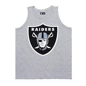 Regata Oakland Raiders Basic Cinza - New Era