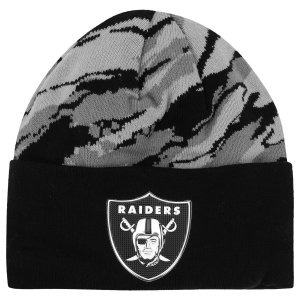 Gorro Touca Oakland Raiders Kickoff Print Cinza - New Era