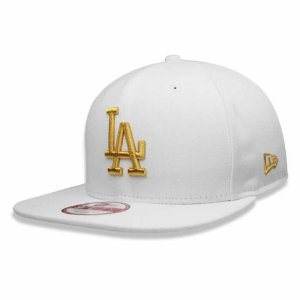 Boné Los Angeles Dodgers 950 Gold on White MLB - New Era