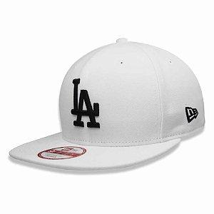 Boné Los Angeles Dodgers 950 Black on White MLB - New Era