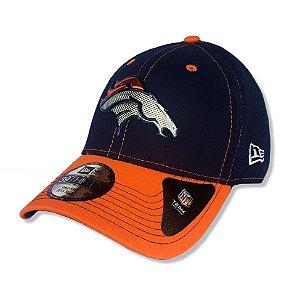 Boné Denver Broncos 3930 Kickoff Neo Azul - New Era