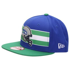 Boné Seattle Seahawks Retro Stripe 950 Snapback - New Era