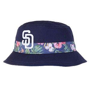 Chapéu Bucket San Diego Padres MLB Print Vibe Azul - New Era