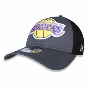 Boné Los Angeles Lakers 3930 Kickoff Neo Chumbo - New Era