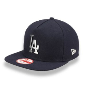 Boné Los Angeles Dodgers 950 A-Frame SIlver Metal MLB - New Era