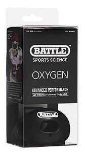 Lip Protector - Protetor de Língua Oxygen C/ Strap Preto - BSS