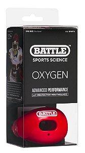 Lip Protector - Protetor de Língua Oxygen C/ Strap Vermelho - BSS