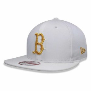 Boné Boston Red Sox 950 Gold on White MLB - New Era