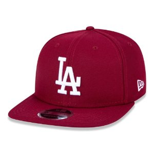 Boné Los Angeles Dodgers 950 White on Cardinal MLB - New Era