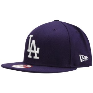 Boné Los Angeles Dodgers 950 White on Purple MLB - New Era