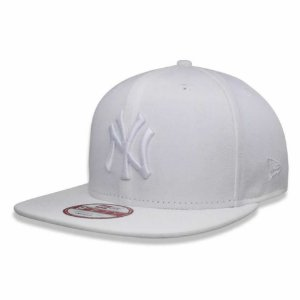 Boné New York Yankees Strapback White on White MLB - New Era