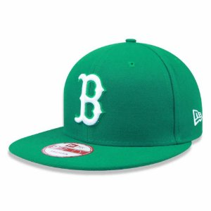Boné Boston Red Sox 950 White on Green MLB - New Era