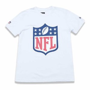 Camiseta NFL Logo Branco - New Era