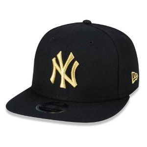 Boné New York Yankees 950 Gold on Black MLB - New Era