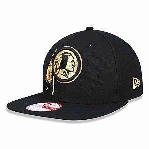Boné Washington Redskins 950 Gold on Black - New Era