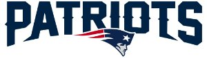 Adesivo New England Patriots 2 NFL - Vinil Brilho 15x7cm