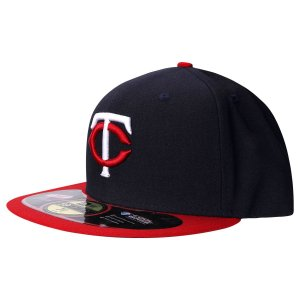 Boné Minnesota Twins 5950 MLB AC Fechado - New Era