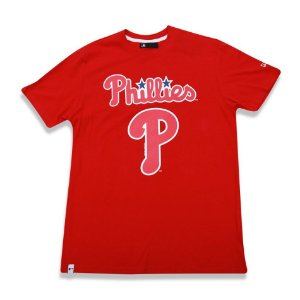 Camiseta Philadelphia Phillies Basic Vermelho - New Era