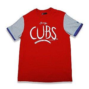 Camiseta Chicago Cubs Letter - New Era