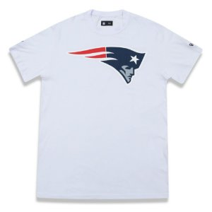 Camiseta New England Patriots Basic Branca - New Era