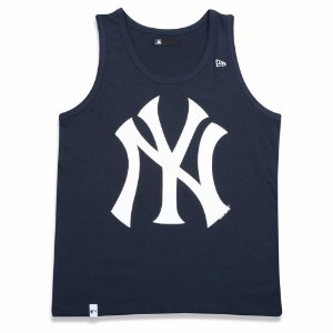 Regata New York Yankees MLB Marinho/Branco - New Era