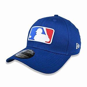 Boné MLB logo 3930 Basic Azul - New Era