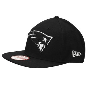 Boné New England Patriots 950 White on Black - New Era