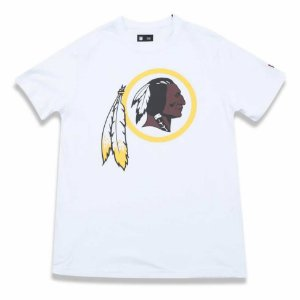 Camiseta Washington Redskins Basic Branco - New Era
