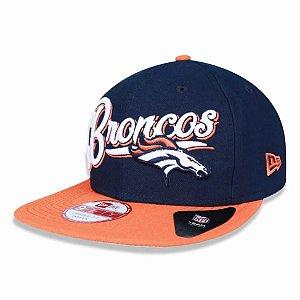 Boné Denver Broncos 950 Snapback Logo Sweep - New Era