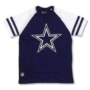 Camiseta Dallas Cowboys NFL Logo Raglan - New Era