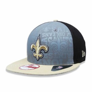 Boné New Orleans Saints 950 Snapback Draft Reflective - New Era