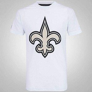 Camiseta New Orleans Saints Basic Branco - New Era