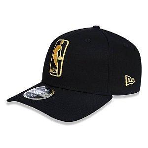 Boné NBA logo 3930 Basic Dourado e Preto - New Era