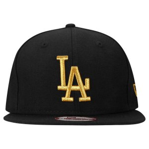 Boné Los Angeles Dodgers 950 Gold on Black MLB - New Era