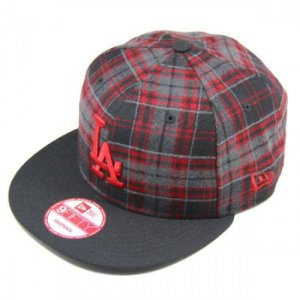 Boné Los Angeles Dodgers 950 Snapback Team Tartan MLB - New Era