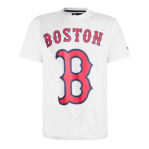 Camiseta Boston Red Sox Basic Branco - New Era