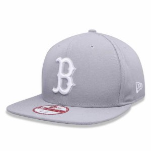 Boné Boston Red Sox 950 White on Gray MLB - New Era