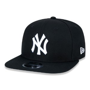 Boné New York Yankees 950 White on Black MLB - New Era