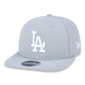 Boné Los Angeles Dodgers 950 White on Gray MLB - New Era