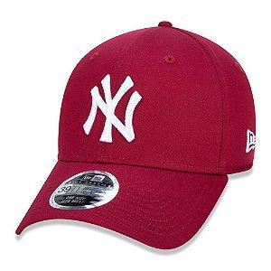 Boné New York Yankees 3930 White on Cardinal MLB - New Era