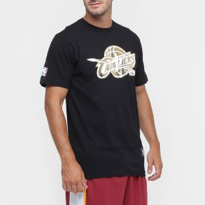 Camiseta Cleveland Cavaliers NBA black/gold - New Era