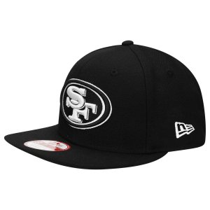 Boné San Francisco 49ers 950 White on Black - New Era