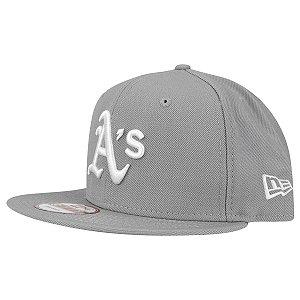 Boné Oakland Athletics A's 950 White on Gray MLB - New Era
