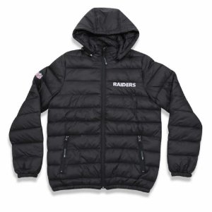 Jaqueta Quilted Bomber Oakland Raiders NFL - New Era